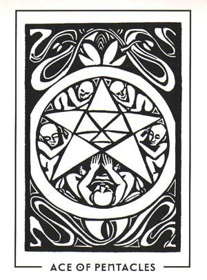 反而可以看到塔罗牌里单纯的元素与符号喔!