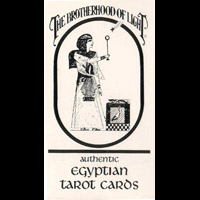 埃及光的兄弟塔羅牌Brotherhood of Light Egyptian Tarot