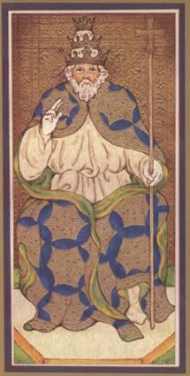 康提塔罗牌再次重现,优雅的边框装饰与金色金属油墨