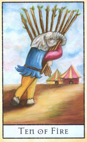 画面中保留为绘画时的笔触,有著可爱童趣绘本般的人物,认真的扮演著塔