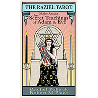 天使拉吉爾塔羅牌The Raziel Tarot: the Secret Book of Adam and Eve