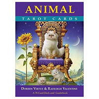 動物塔羅牌Animal Tarot Cards: A 78-card Deck and Guidebook