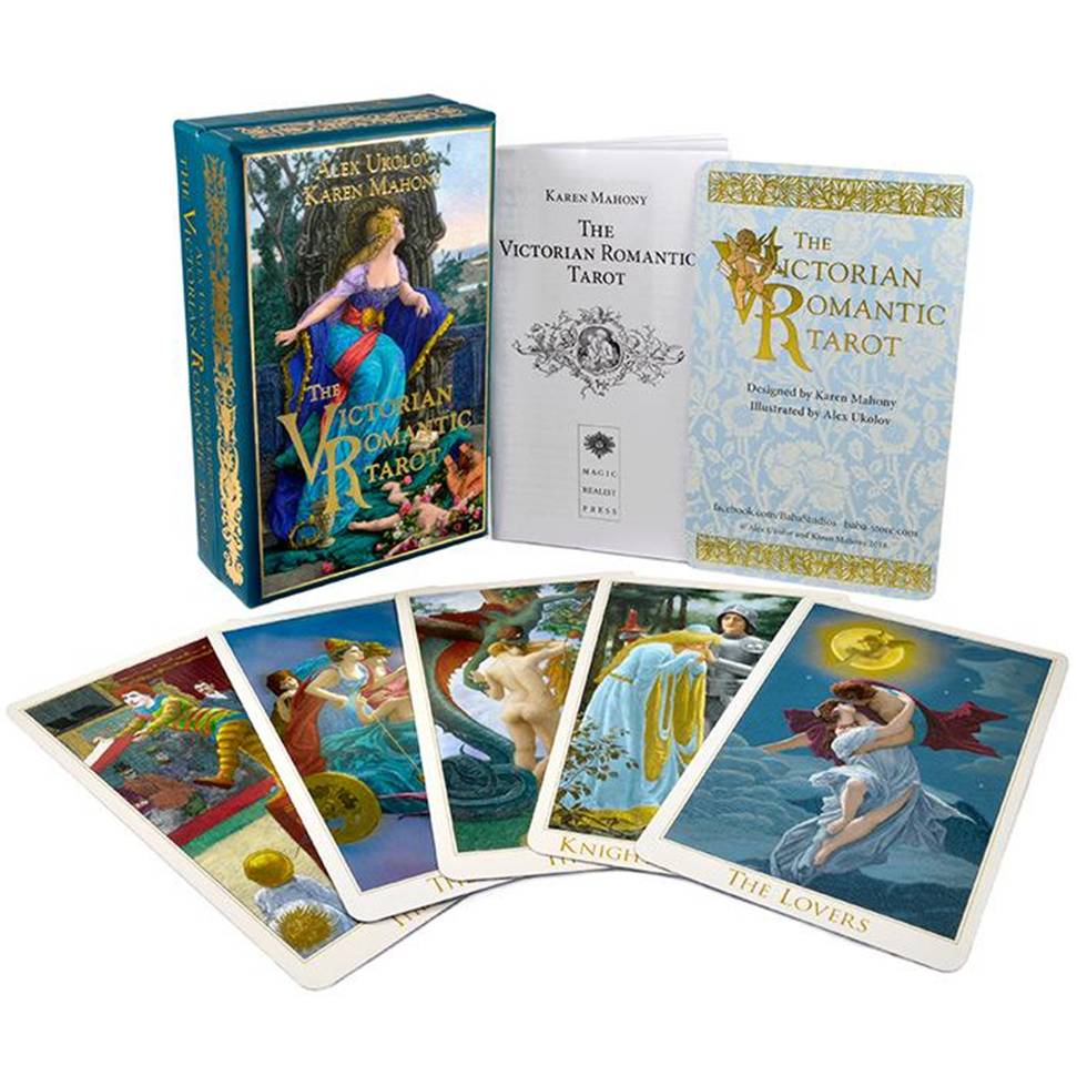 維多利亞浪漫塔羅牌(三版)The Victorian Romantic Tarot third edition